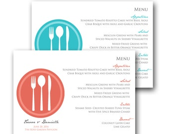 Plate Menu (sample ONLY)
