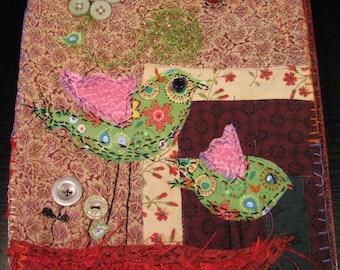 Mixed media quilt | Etsy : mixed media quilts - Adamdwight.com