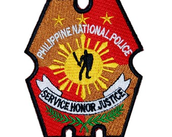 "Philippine National Police PNP patch 3.2"" x 4.0"""