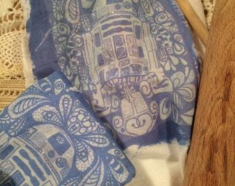 R2D2 Flour Sack kitchen towel