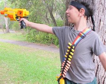 Dart Ammo shoulder Belt, Arrow Dart Gun, Boy Toy
