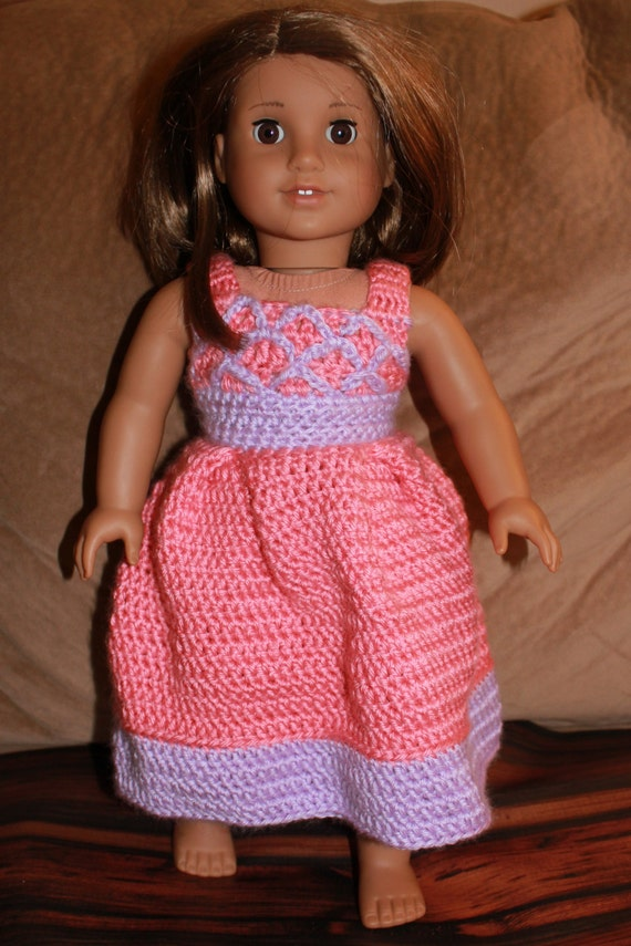 Crochet Pattern Central American Girl : Items similar to Doll Dress - 18 inch doll dress ...