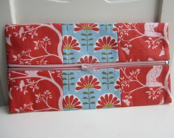 Pencil Pouch in Vine - Organic Meadow Collection