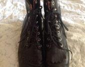 REDUCED Vintage Laredo Granny Style Weatern Boots Women's 9