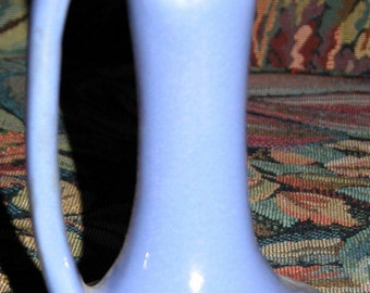 Blue Niloak Vase Ewer Art Pottery Antique American Art Pottery Vintage NILOAK Ewer Pitcher Porcelain American Art Pottery Vase