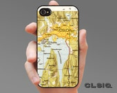 Vintage Oslo Norway Map Case for iPhone 6/6Plus, iPhone 5/5s, iPhone 5c, or iPhone 4/4s, Samsung Galaxy S6, Galaxy S5, Galaxy S4, Galaxy S3