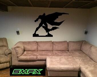Batman the Dark Knight Metal Silhouette