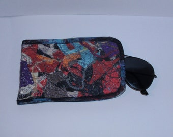 Patchwork glasses cases, Mobile phone case