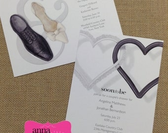Mr. and Mrs. Shower Invitations - Rehearsal Dinner, Wedding, Shower - Same Sex Weddings LGBT