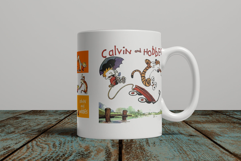 Calvin And Hobbes Coffee Mug Ceramic Cup