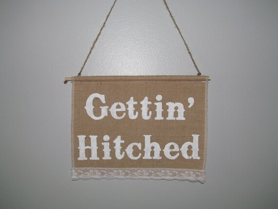 gettin hitched banner gettin hitched country by