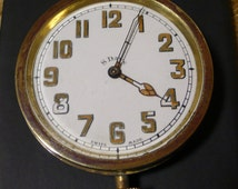 Swiss DOXA  pocket watches PORCELAIN  dial Encrust Hand made case rare 1900 Perfect condition