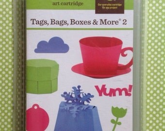 Tags, Bags, Boxes, and More 2 Cricut cartridge (NEW)