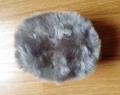 Gray Faux Fur Earmuffs Deadstock NWT