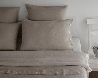 SINGLE bedding set - Twin LINEN BEDDING - duvet cover set - twin bed set - twin bedding - linen bedding set - custom bedding set