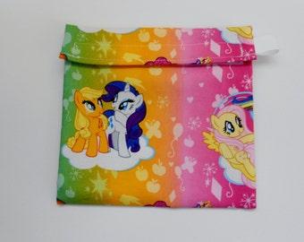 My Little Pony  Reusable Sandwich bag