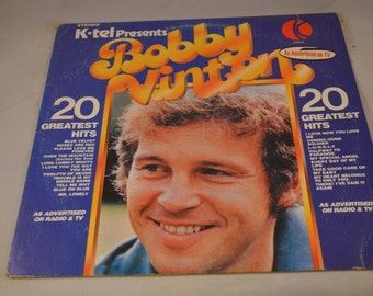 Vintage Record Bobby Vinton's Greatest Hits Album P-13610