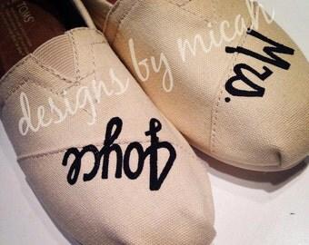 Wedding Name TOMS