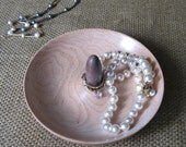 Ring Jewelry Dish Handmade Maple and Walnut