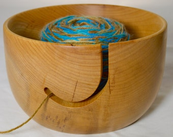 525 Yarn bowl, made from Big Leaf Maple