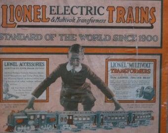 Circa 1925 Lionel train set with box - collector's item