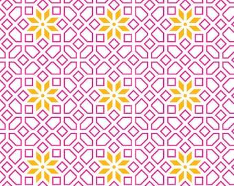 Pink Trellis Gift Wrap