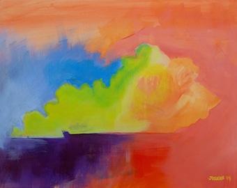 Kentucky Love Art Print, Kentucky Pop Art Painting, Galerie Jerielle Painting, Original Artwork