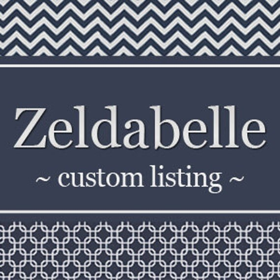 Custom Listing For Barbara