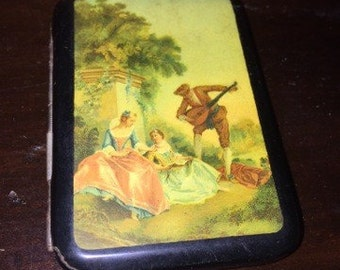 SALE Early victorian celluloid cigarette case