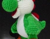 Crochet Dragon Yoshi amigurumi