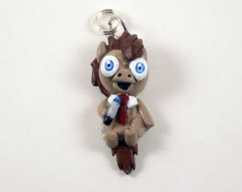 Doctor Whooves Keychain