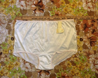 XXL granny panties high waist cotton crotch plus size vintage underwear new w/tags