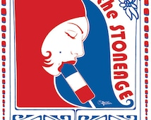 Queens of the Stone Age Poster by Darren Grealish