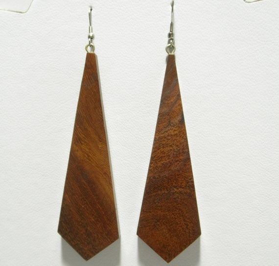 handcrafted wood wooden earrings color