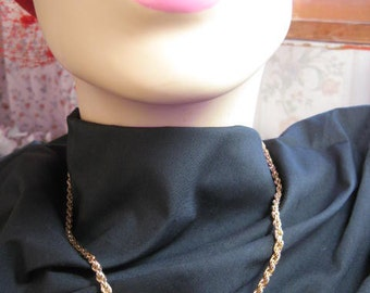 Six 18inch gold plated chains