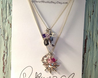 Princess Rapunzel Charm Necklace