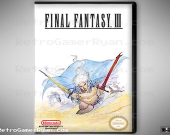 Final Fantasy III (NES Reproduction)