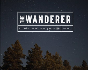 Pre-made Logo Template Design / Customized Design / The Wanderer