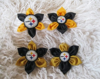 Pittsburgh Steelers Pin-2 Sports Team Pin-NFL Gift-Pittsburgh steelers accessories-Gift For Women-Sports Fan Gift
