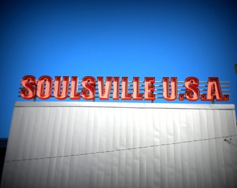 Soulsville USA, Stax Museum, Fine Art Photograph, Music, Soul Music, Color Photography