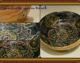 Carnival yarn bowl