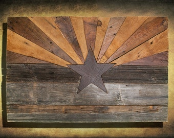 American Flag Weathered Wood Edison Bulb 3d Wooden