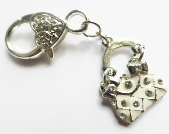 Zipper pull charms, zip pull, child zipper pull, replacement zip pull.