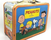 Peanuts Lunch Box, 1959, Charles Schulz, Snoopy, Charlie Brown, Lucy, Linus