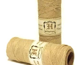 Hemp Twine, Natural, 0.5mm, Macrame Hemp Cord, Colored Hemp Craft Cord, Bead Cord