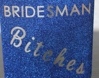 Bridesman Gift Flask - Customizable