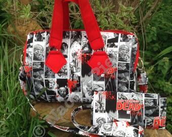 Zombie purse & wallet set