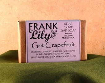 Real Soap Bar Soap 4oz