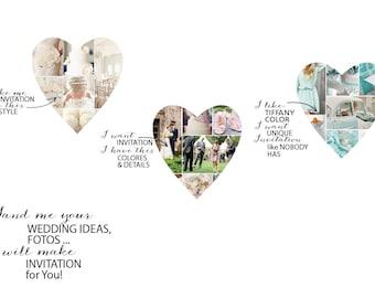 ORDER wedding invitation DESIGN