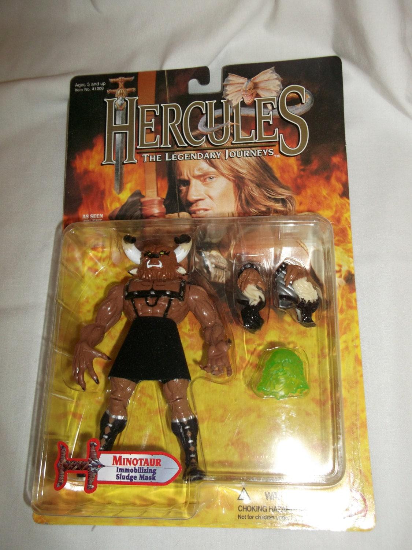 Toys For Hercules : Hercules vintage tv show minotaur action figure toy biz